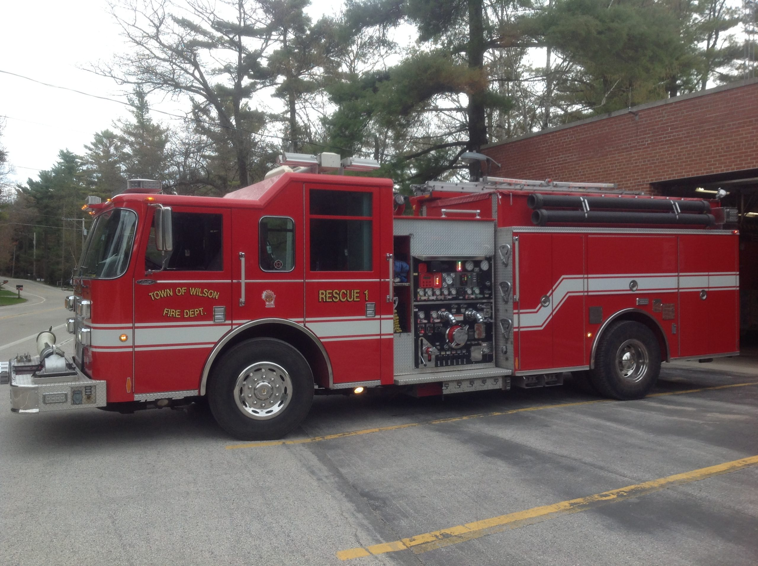 Town Of Wilson Fire Department Purchases Truck From
