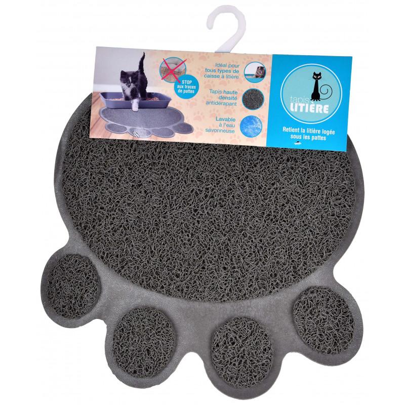 tapis pour litiere impermeable antiderapant anti odeur matiere lavable a l eau savonneuse