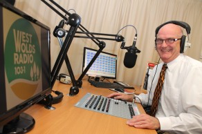 West Wolds Radio Manager Stuart Cocker