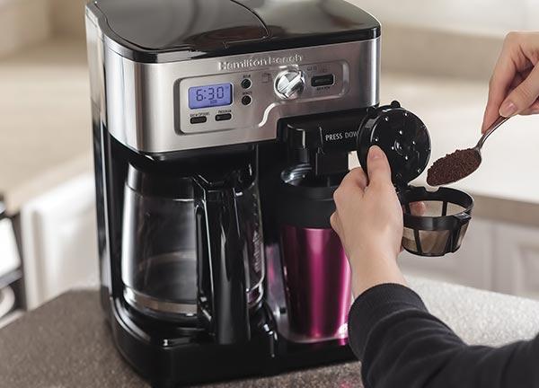 cafetière isotherme programmable détartrage