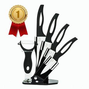avis test couteau céramique ChefsDeFrance (Set Complet 4 Couteaux + économe) img