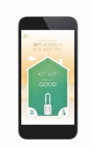 Avis test Dyson Pure Hot+Cool Link application mobile