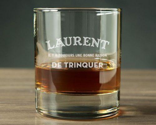 verre à whisky à base large