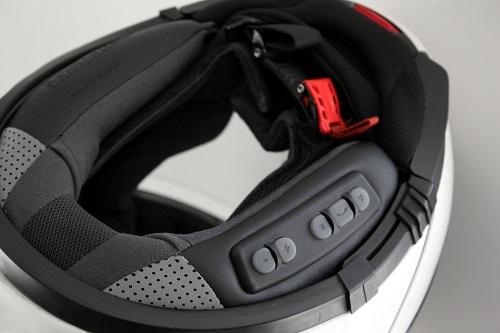 acheter casque moto modulable intercom
