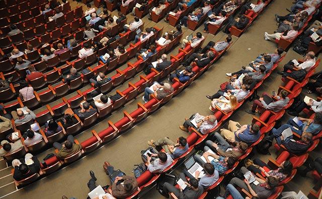 Auditorium prendre la parole en public