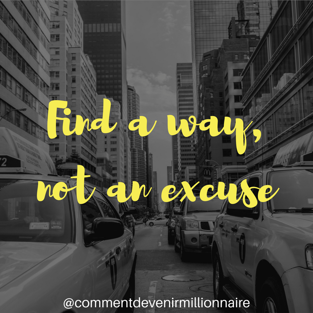 Find a way, 