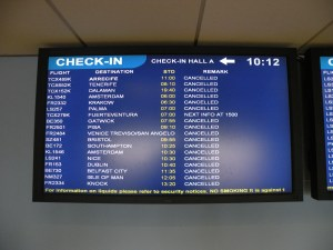 check in board