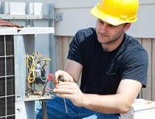 worker wearing safety wear