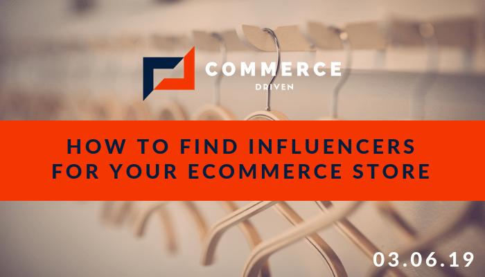 Online Influencers for your eCommerce Store