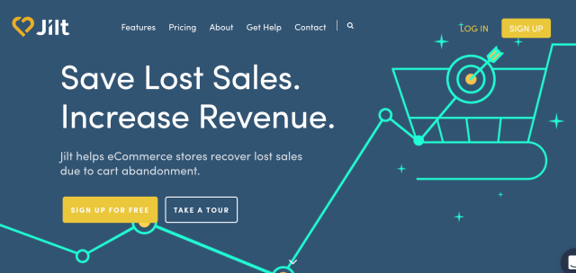 Jilt - Best Abandoned Cart Recovery Service for WooCommerce