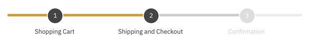 Shoptimizer progress bar on the checkout