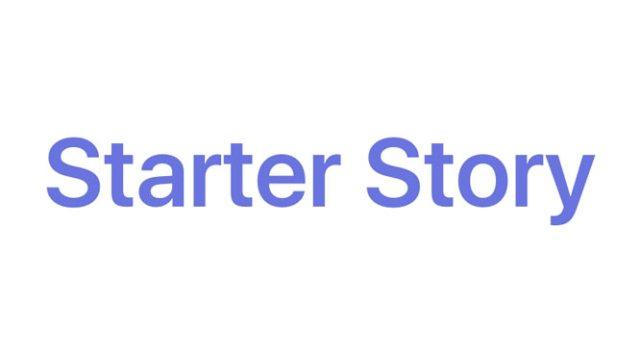Starter Story