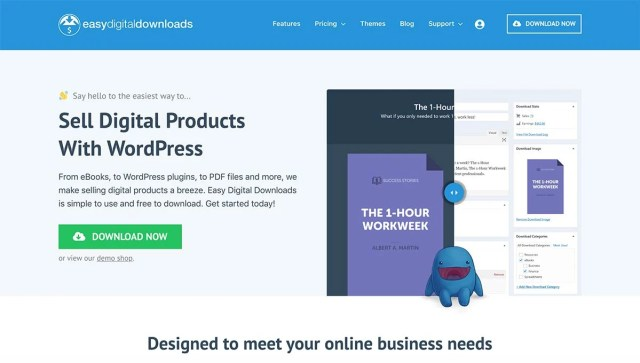 Easy Digital Downloads Opensource eCommerce