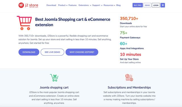 J2Store Opensource eCommerce