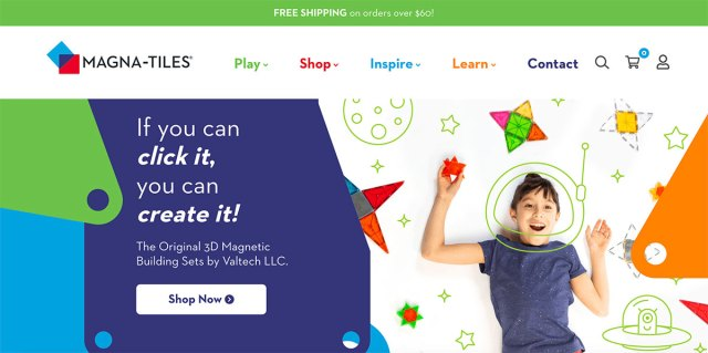WooCommerce Examples - Magna Tiles