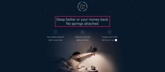 Casper mattress company example