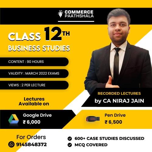 Class 12th Business Studies Pen Drive Google Drive Classes