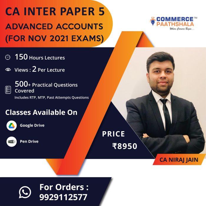 CA Intermediate Advanced Accounting (Group 2, Paper 5)