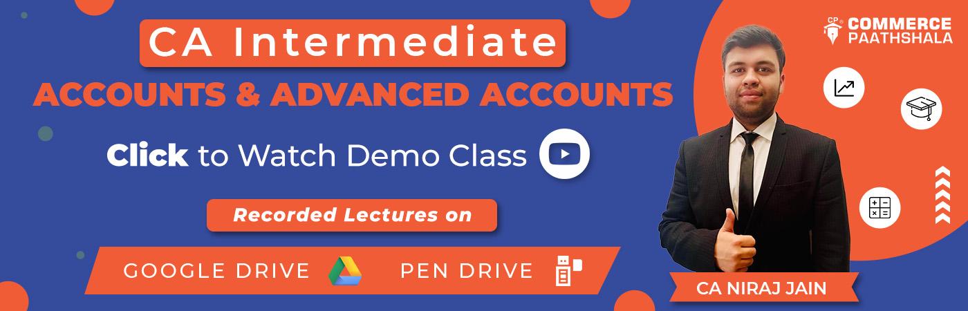 CA Intermediate Recorded Classes