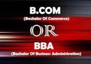 BBA vs B.com