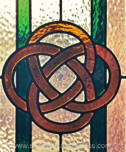 Celtic Stained Glass circles