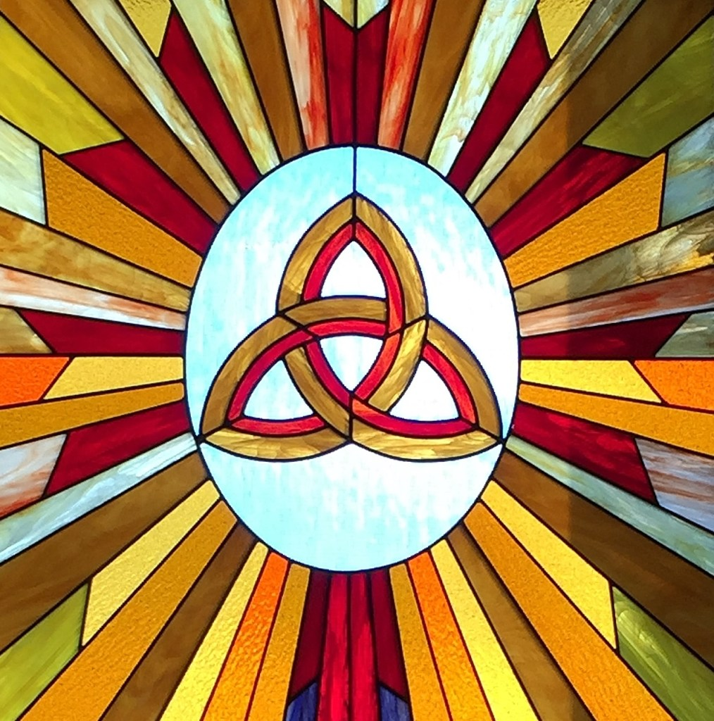 Church Stained Glass Celtic