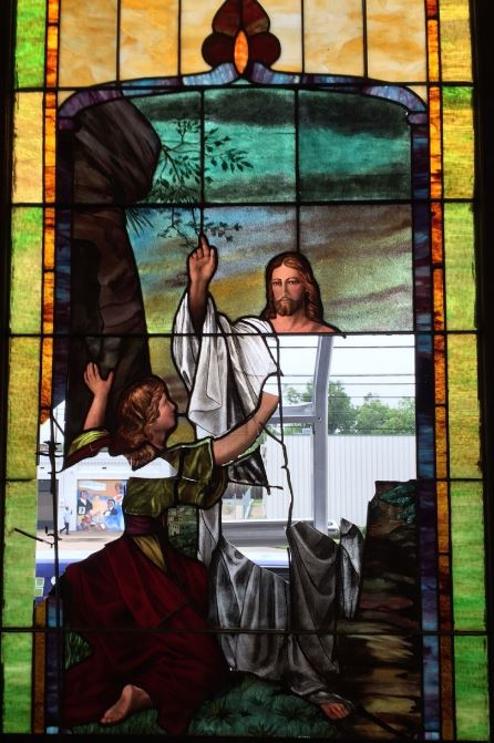 Church Stained Glass Jesus