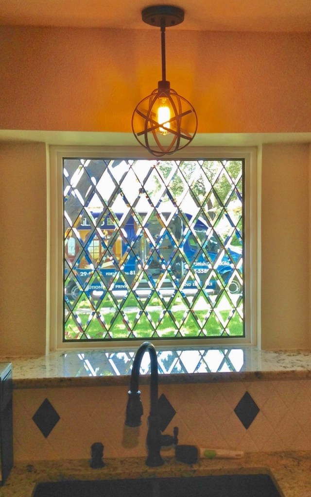 Kitchen Stained Glass pattern view