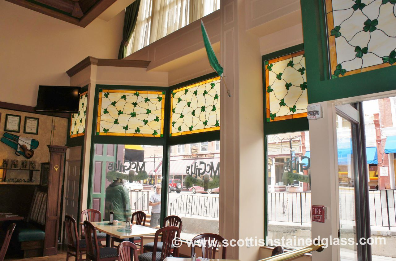 commercial stained glass restoration new orleans