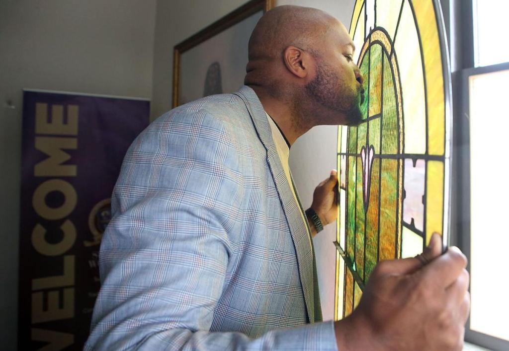 historic church stained glass restoration tulsa