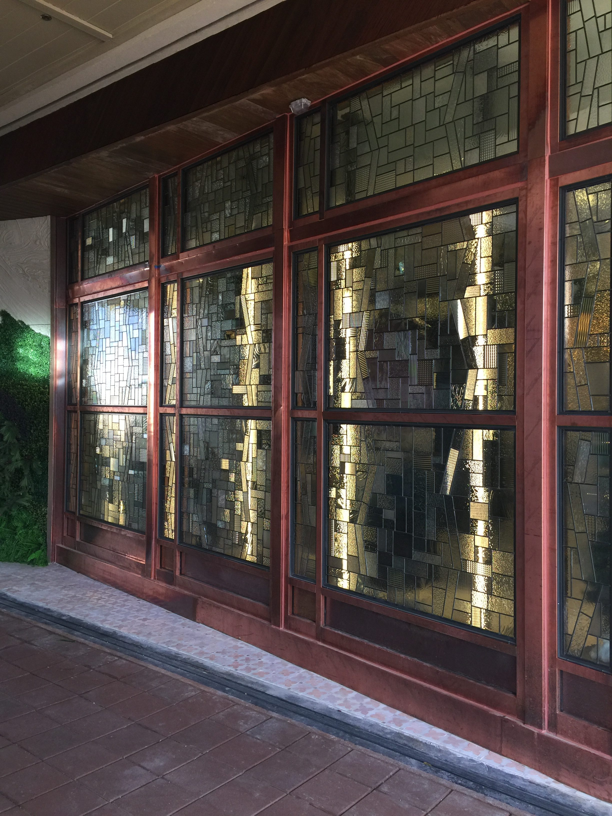commercial stained glass art seattle