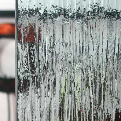 Cardinal Rain Solexia Glass Patterned Sample