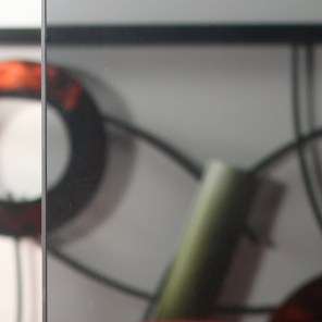 Smoke Colored Glass Sample