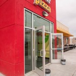 Commercial Glass Storefront - Peter Piper Pizza Las Vegas, Nevada