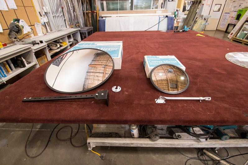 Convex Mirrors by CRL - A Cutting Edge Glass & Mirror of Las Vegas, Nevada