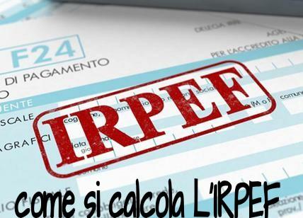 come si calcola l'IRPEF