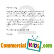 example kid actor resume resume