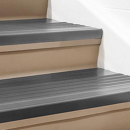 Roppe Ribbed Vinyl Stair Tread Commercial Mats Rubber | Wood Look Vinyl Stair Treads | Shaw Floors | Laminate Flooring | Roppe | Tile | Vinyl Flooring