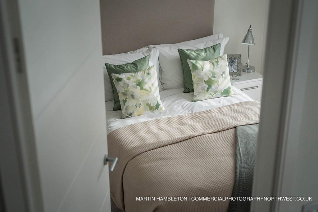 shot of bedroom from landing
