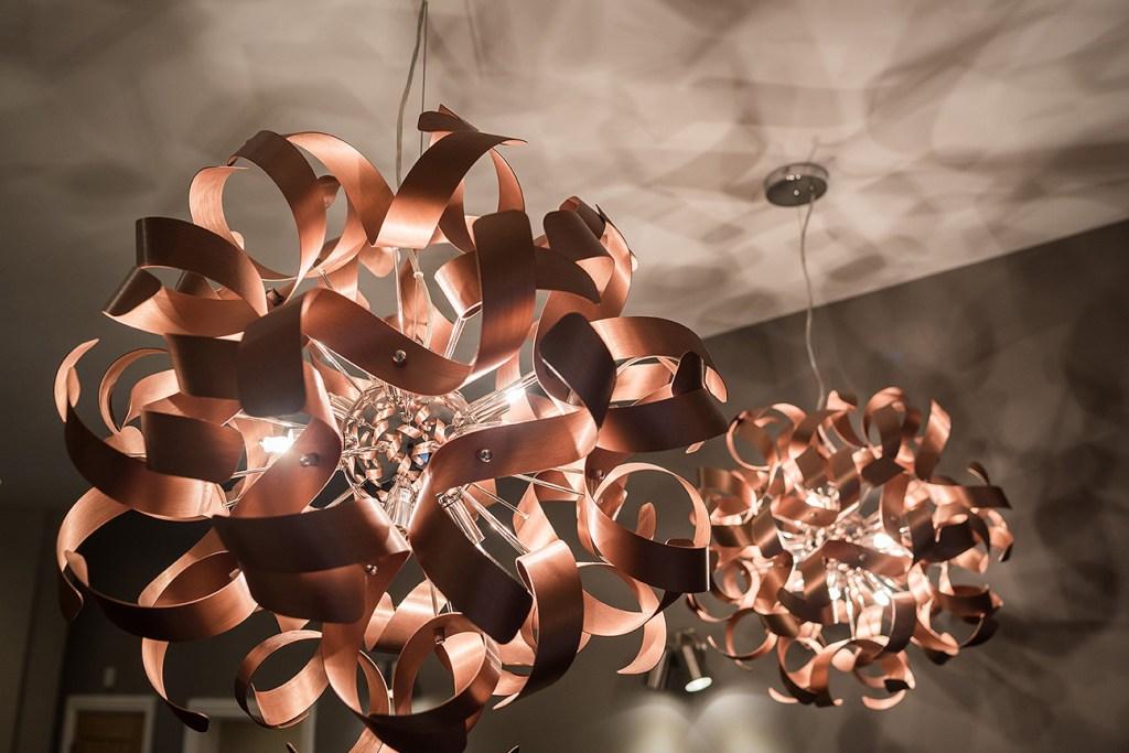 photo of designer light fitting