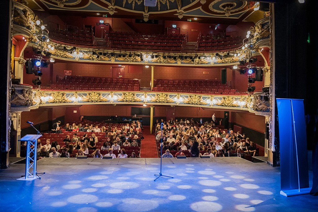 crewe lyceum theatre auditorium from the stage