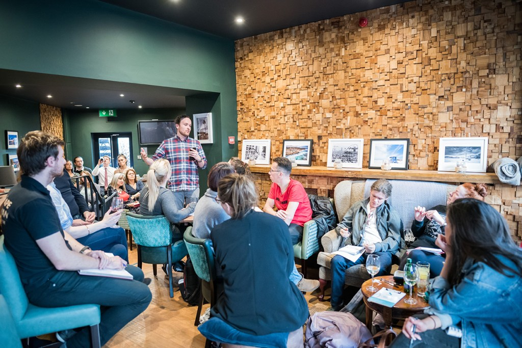 event photography at California Coffee Co. Altrincham