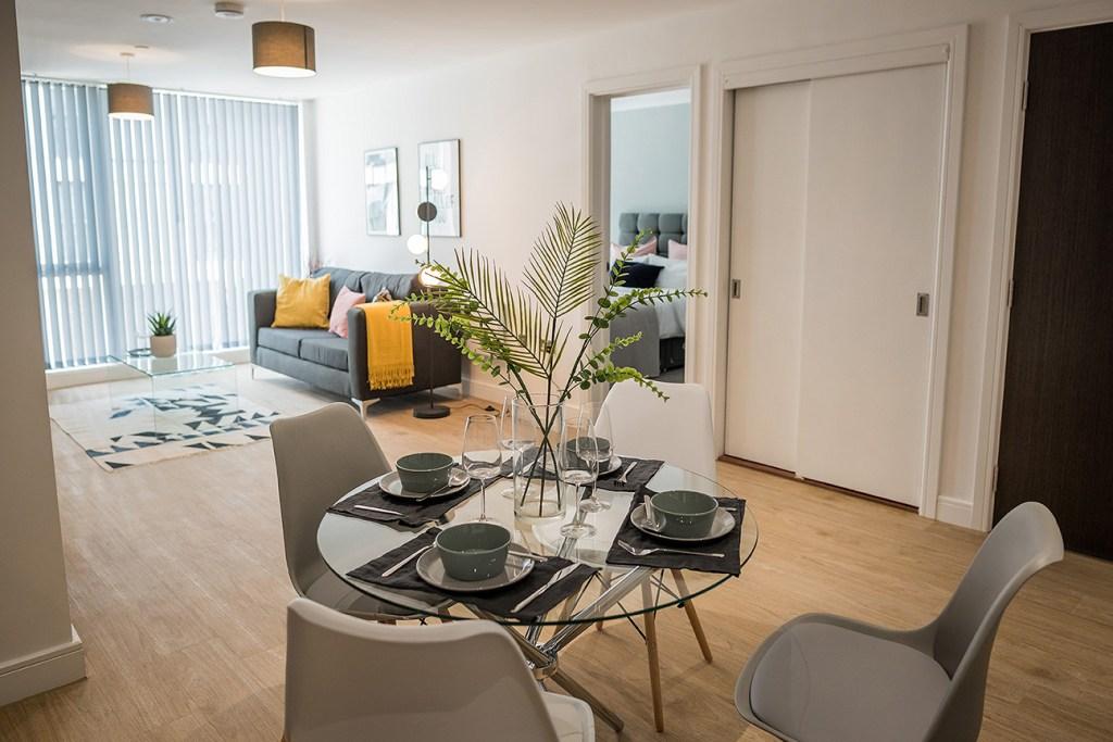 city centre modern apartment