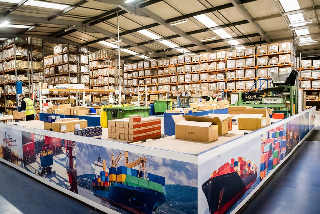 branding photography of the Rapierstar warehouse