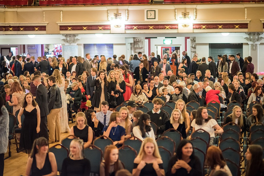 attendees at ncs awards night stoke 2019