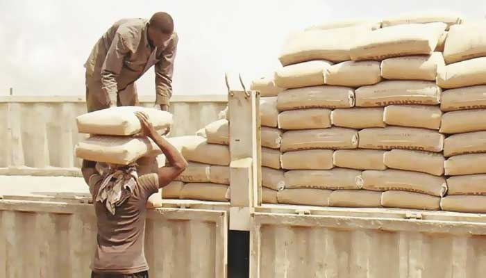Image result for bricklayer using Dangote cement Nigeria