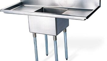 Commercial Kitchen Sinks Eq 1 compartment commercial wall mount kitchen sink stainless steel eq 1 compartment commercial kitchen sink stainless steel workwithnaturefo