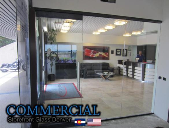 commercial glass denver window door install repair 128