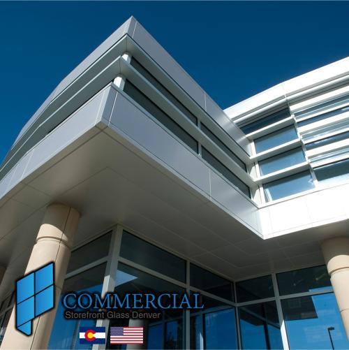 commercial storefront glass denver window door replacement 112