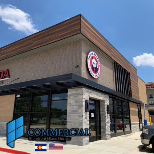 commercial storefront glass denver window door replacement 127